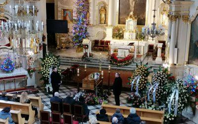 Ceremonia Pogrzebowa w kościele pw. Św. Szczepana w Raszynie