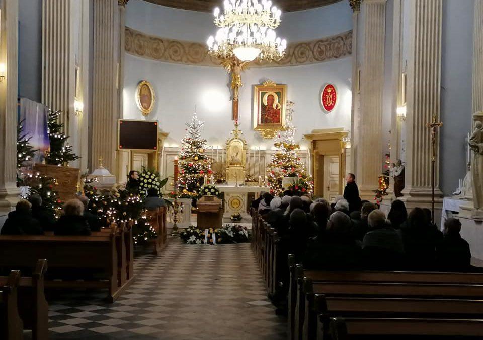 Ceremonia Pogrzebowa w Kościele pw Św. Wawrzyńca na Warszawskiej Woli